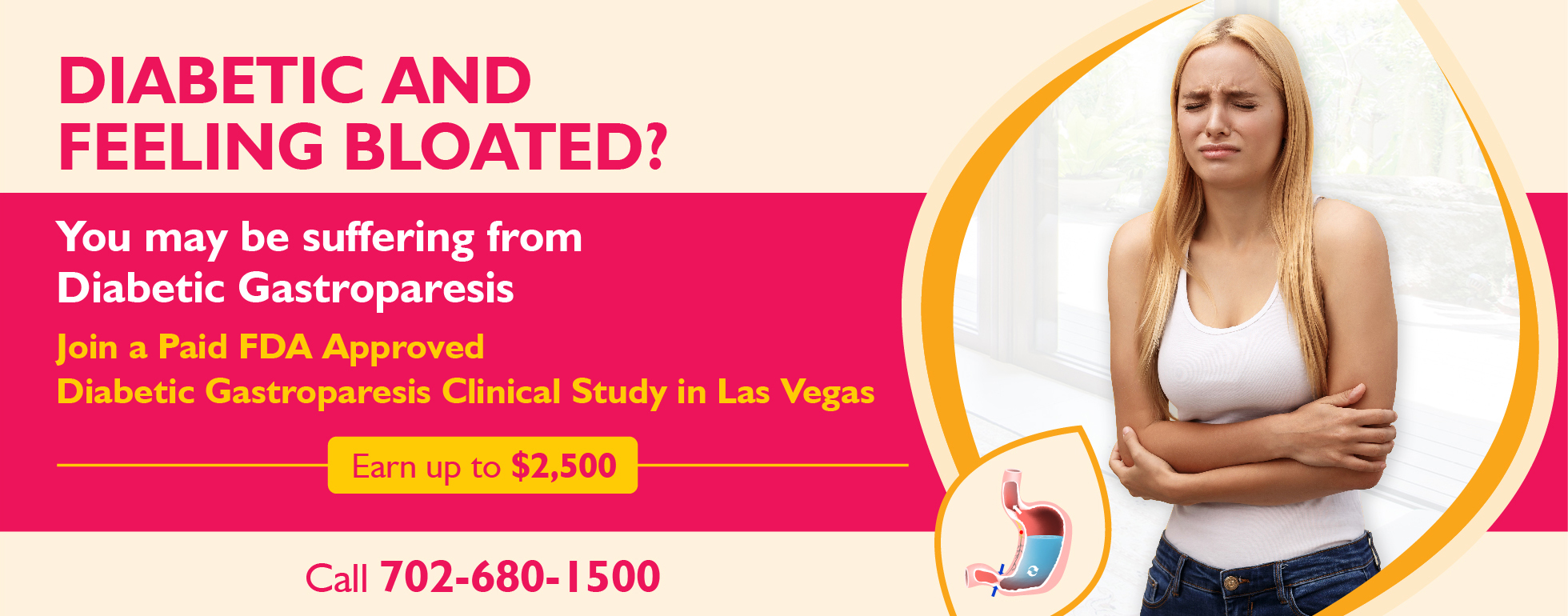 Join Gastroparesis Clinical Study