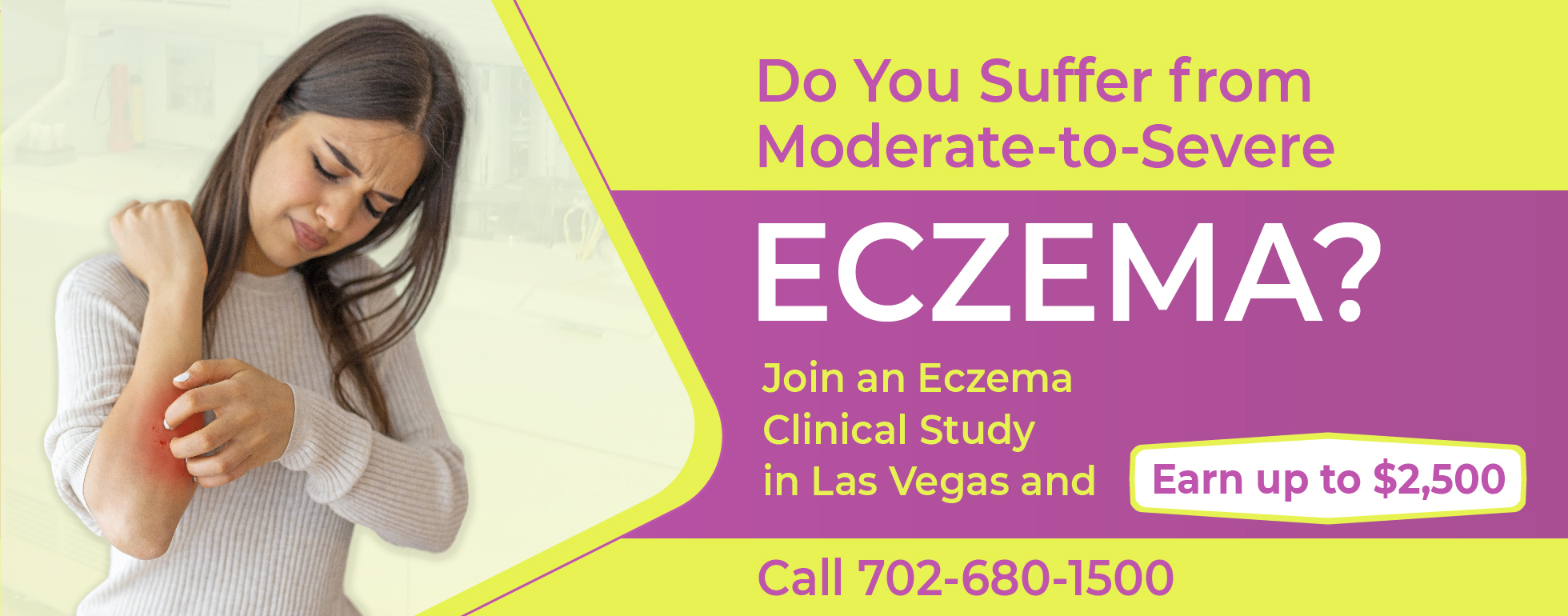 Eczema Study Excel Clinical Research Las Vegas